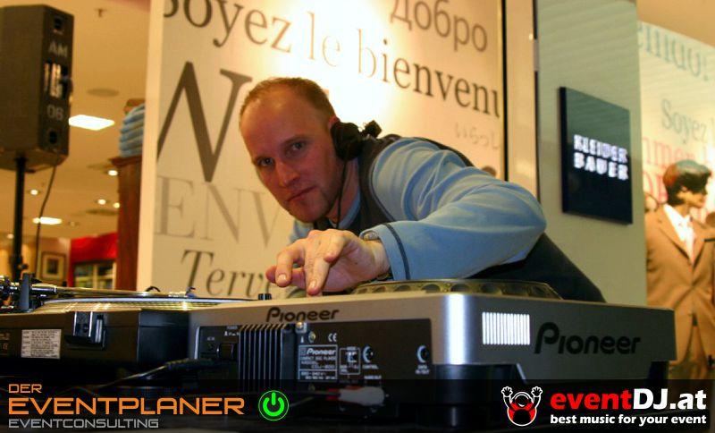 Modeschau-DJ